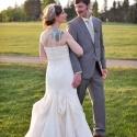 Newlyweds Anna & Jeremy La Sposa Gown