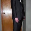 Men's Custom, 3-Piece Pinstripe Suit