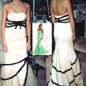 Prom Dress With the Inspiration Behind It