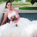 Bride Erin B. in Pronovias